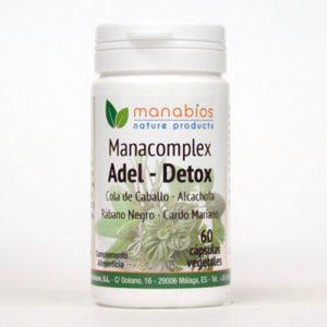 Manacomplex Adel-Detox 60 cápsulas vegetales Manabios