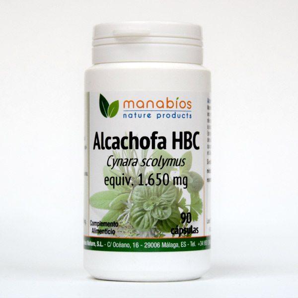 Alcachofa HBC 90 cápsulas Manabios