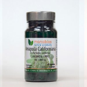 Amapola Californiana veg. cáp. 1800mg