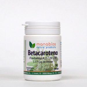Betacaroteno 90 perlas Manabios