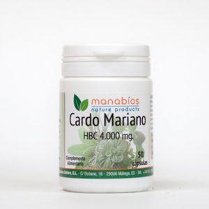 Cardo Mariano 50 cápsulas Manabios