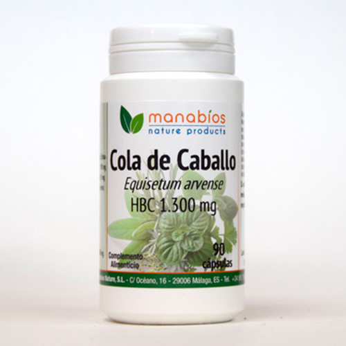 Cola de Caballo 90 cápsulas Manabios