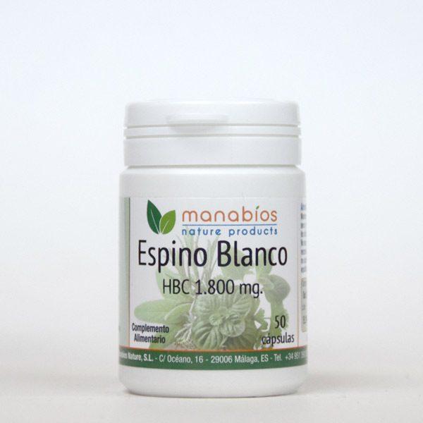 Espino Blanco 50 cápsulas Manabios