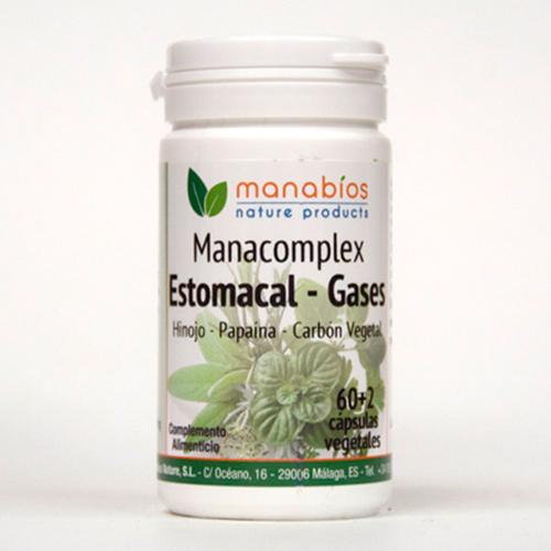 Manacomplex Estomacal 60 cápsulas vegetales Manabios