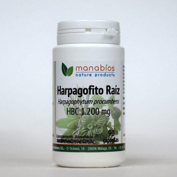 Harpagofito Raíz 90 cápsulas Manabios