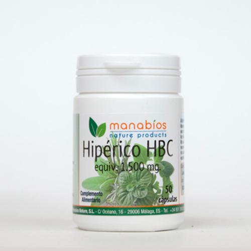 Hipérico HBC 50 cápsulas Manabios