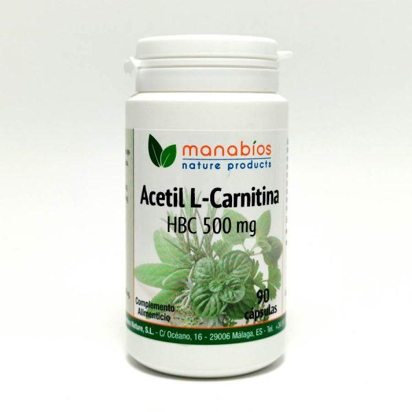 Acetil L-Carnitina 90 cápsulas Manabios