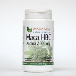 Maca Andina 90 cápsulas vegetales Manabios