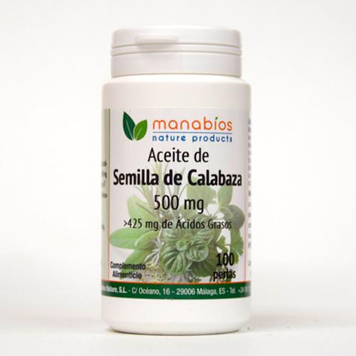 Semillas de Calabaza 100 perlas Manabios