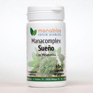 Manacomplex Sueño 60 cápsulas vegetales Manabios