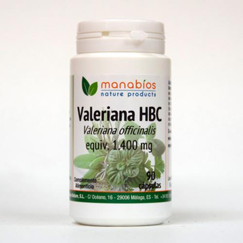 Valeriana HBC 90 cápsulas Manabios