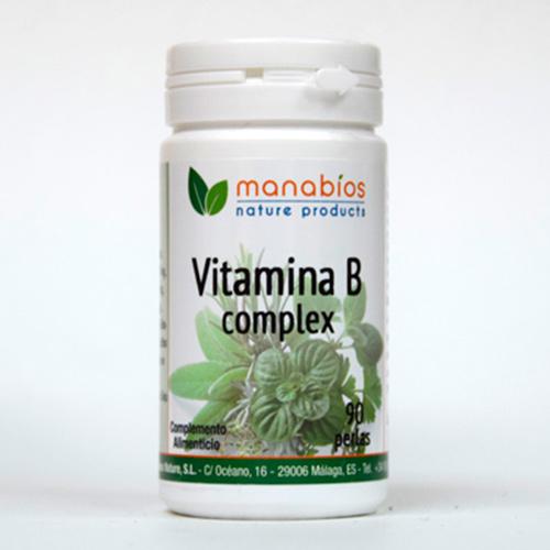 Vitamina B Complex 90 perlas Manabios