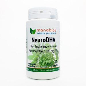 Neuro DHA 60 perlas Manabios