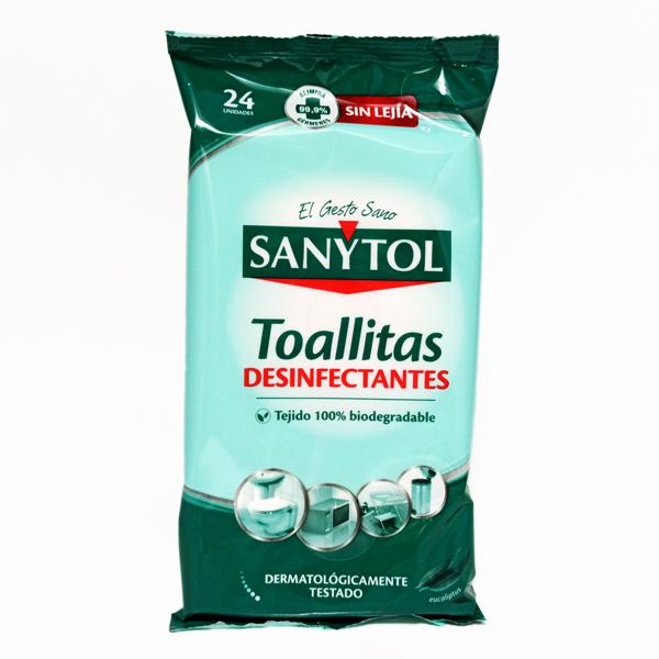 TOALLITAS DESINFECTANTES SANYTOL